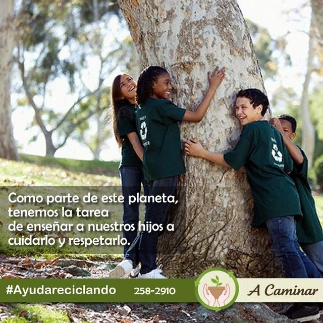 Ayudemos a cuidar y proteger nuestro planeta. ¡Recicla!  ¡Sé Eco - friendly ! Contáctenos : 258 - 2910 / Rpc. 998178541 Descubre más de nuestro trabajo aquí: http://acaminar.org/donaciones/