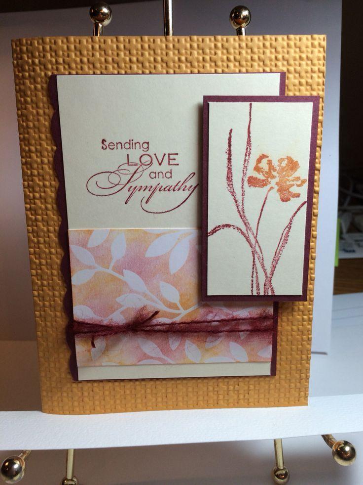 simply beautiful beautifully simple  sympathy cards