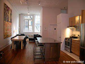 New York Apartment: 2 Bedroom Loft Apartment Rental In Tribeca