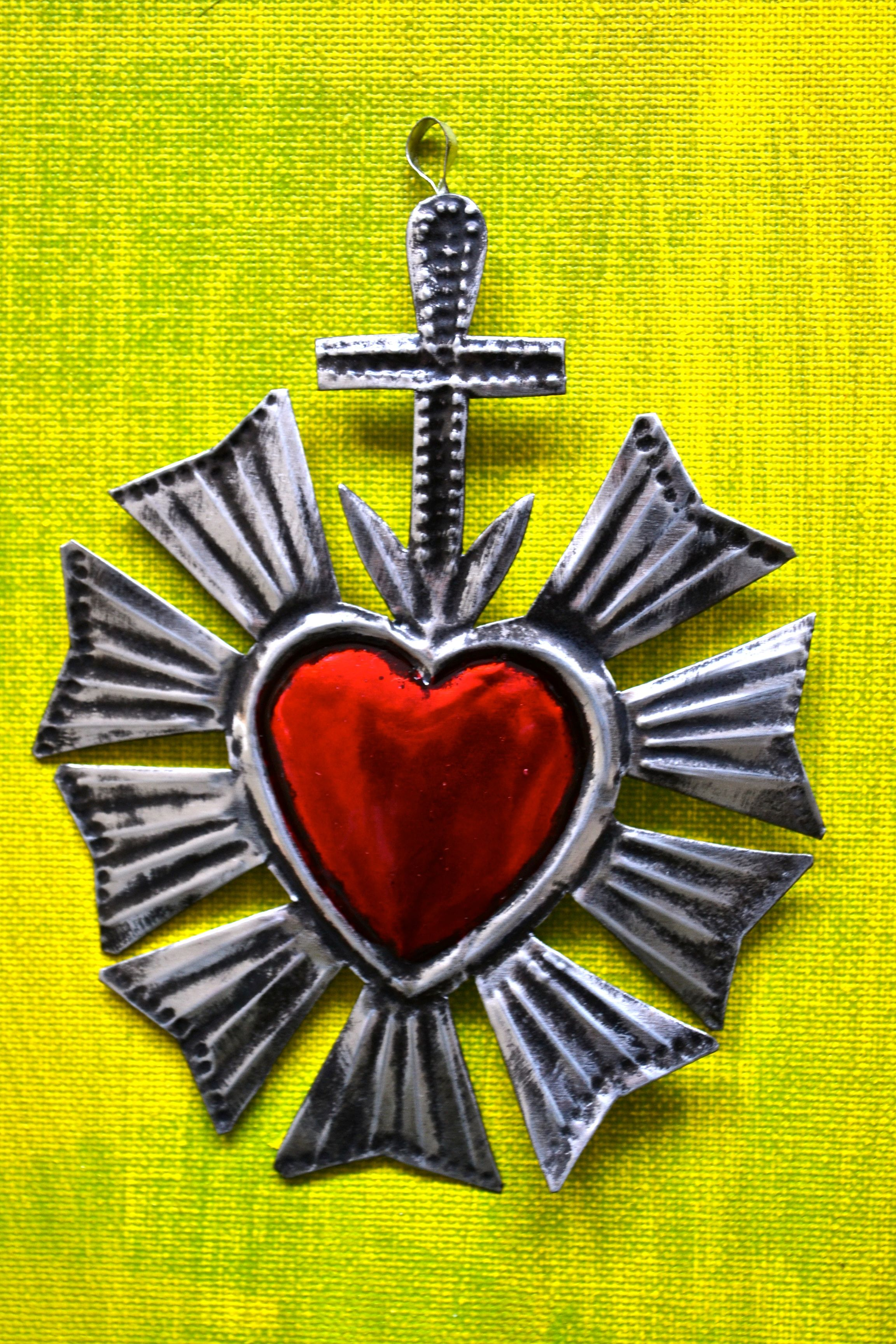 3 Mexican sacred heart©Mexico Import Arts (Australia) | Mexican Love ...