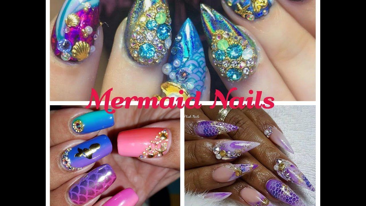 Mermaid Nails - Fish Scale Nail Art | Summer Nails | Pinterest