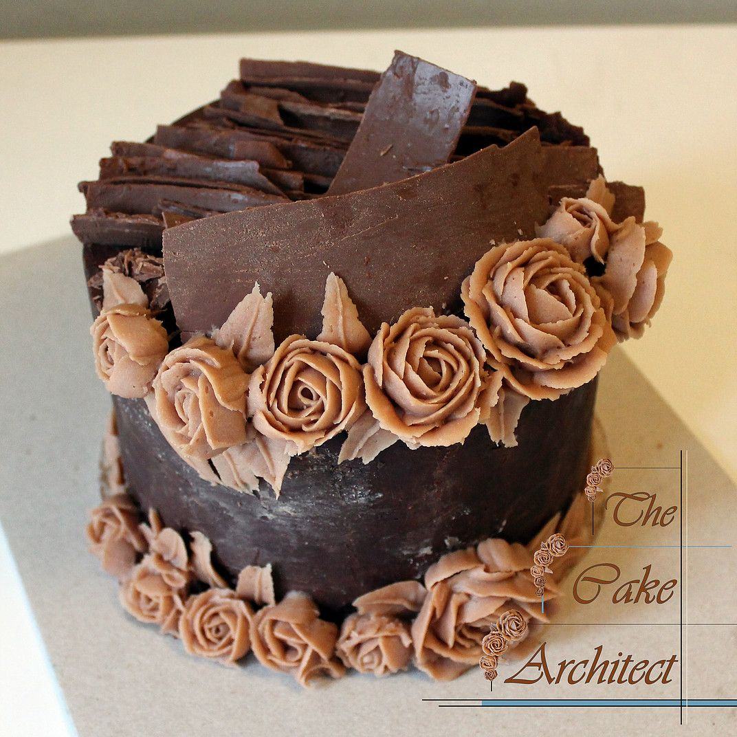The Most Beautiful Chocolate Cake By The Cake Architect Made For