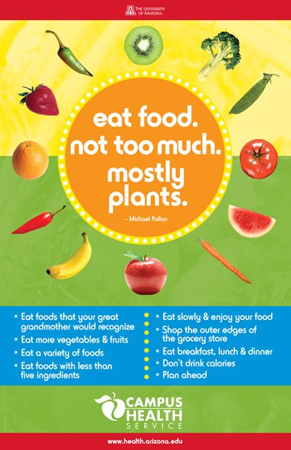In Defense Of Food, Nutrition