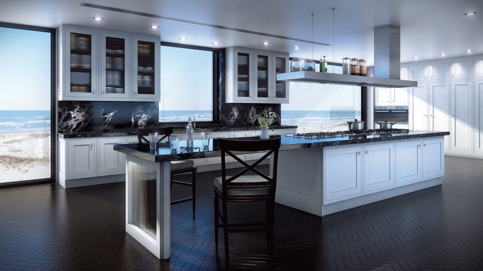 Contemporary Dream Kitchens alpha white kitchen. - clive christian contemporary | contemporary