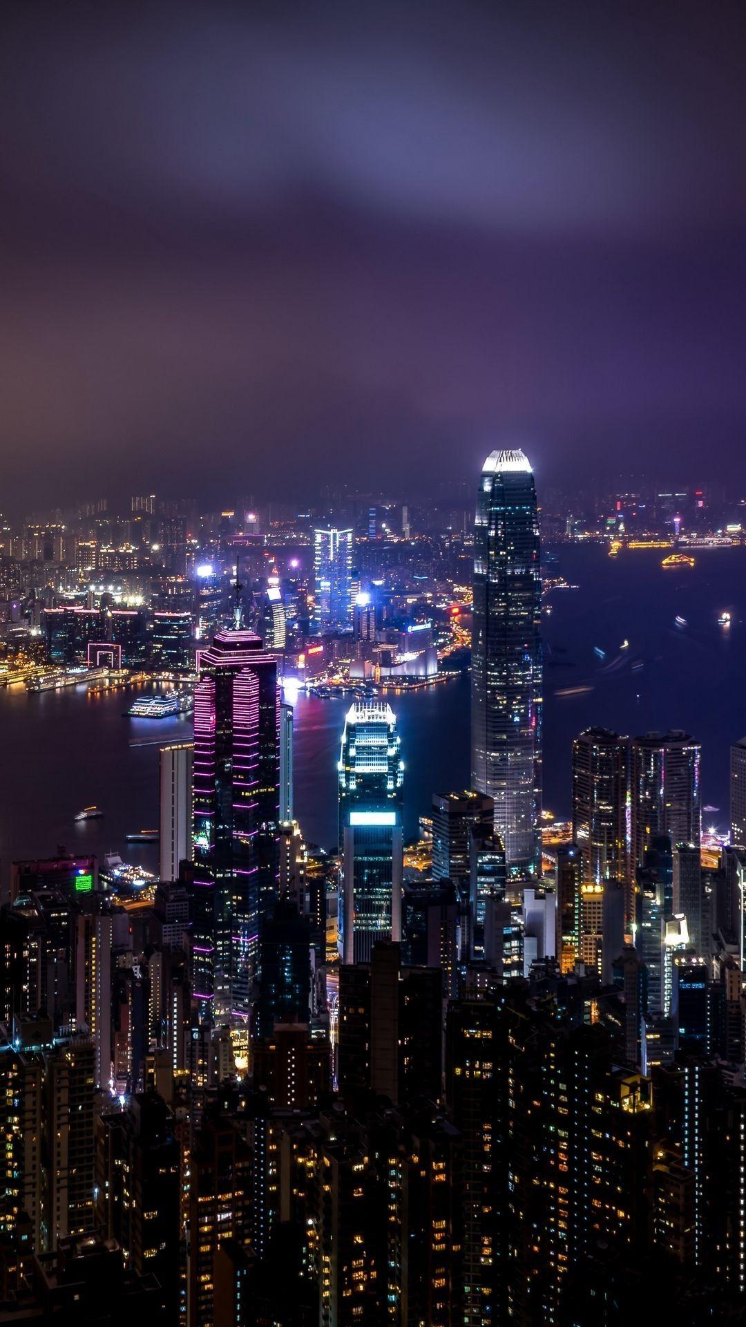Fresh City Night View Wallpaper City Lights Wallpaper City Wallpaper China City