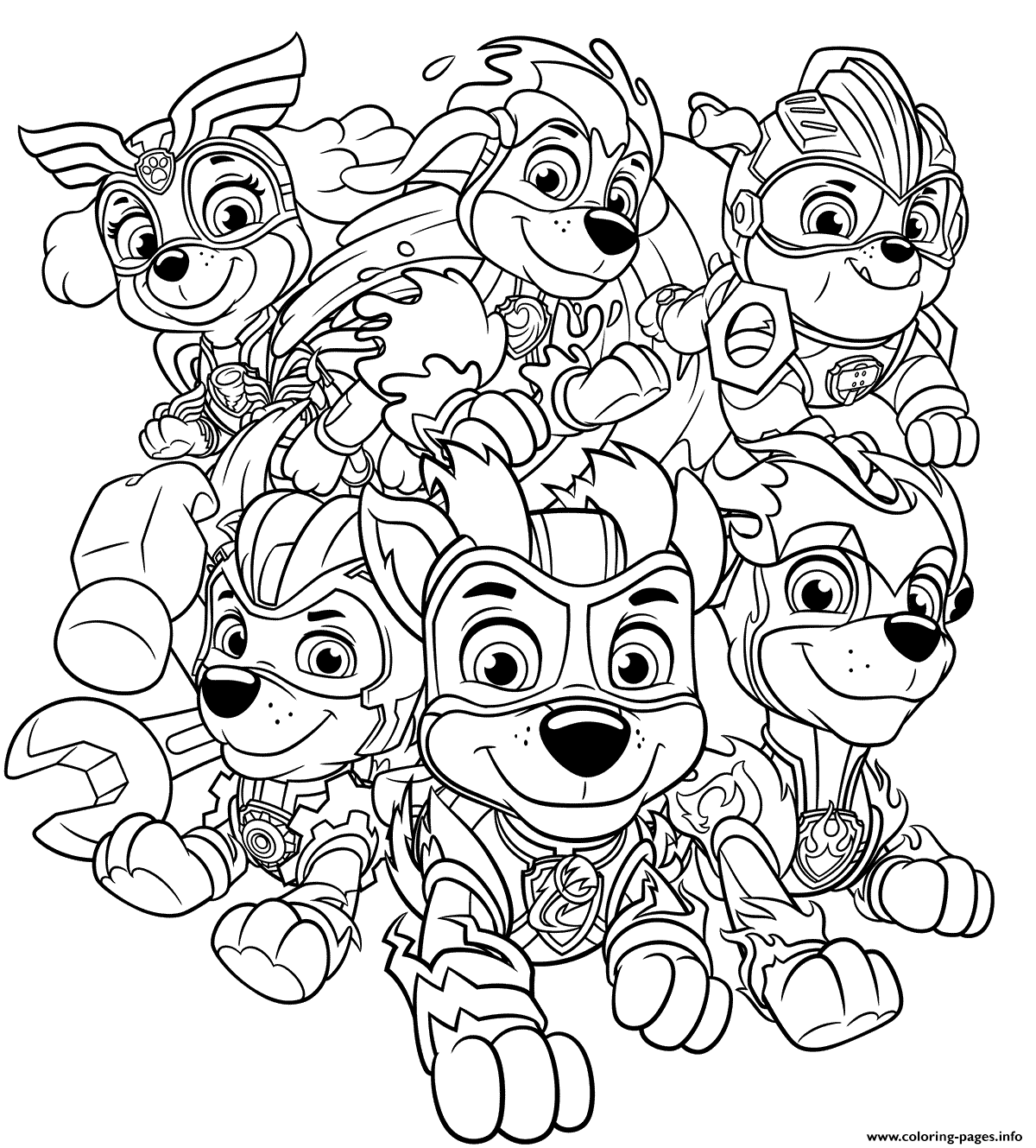 Print Mighty Pups Charged Up Coloring Pages Paw Patrol Coloring Paw Patrol Coloring Pages Cartoon Coloring Pages