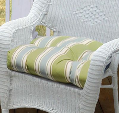 Superior The Pretty Wicker Standard Outdoor Tufted Seat Cushion Is Part Of Our Furniture  Cushions Collection.