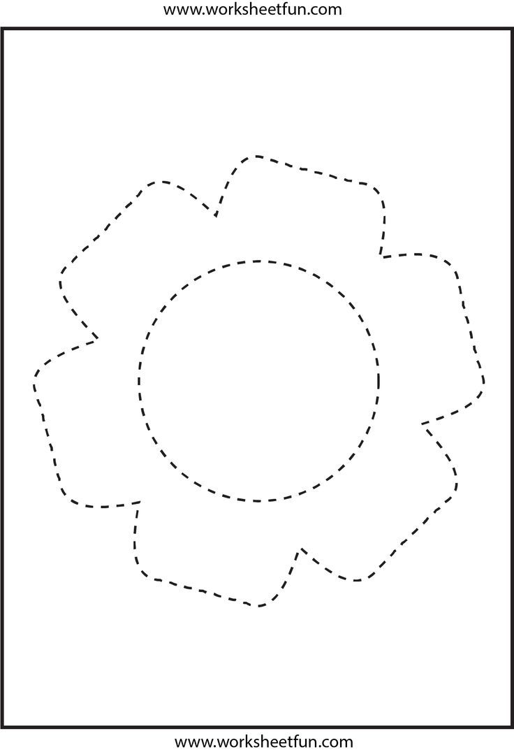 Flower Trace Worksheet Sequence Alex Pinterest Worksheets