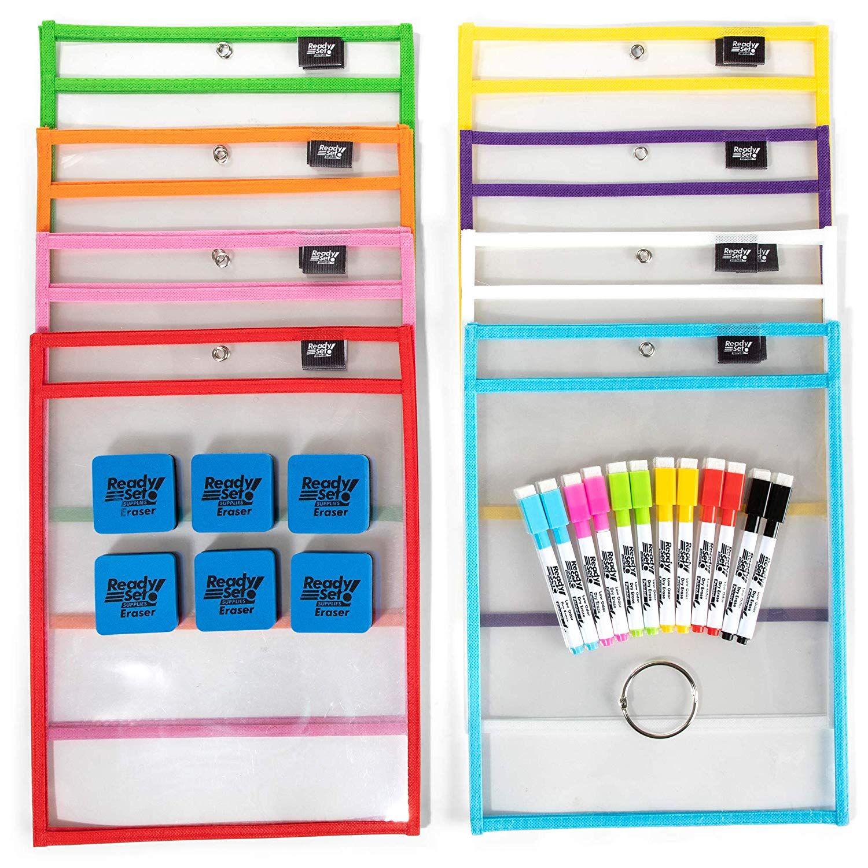 Amazon 15 Pack 10x14 Premium Reusable Dry Erase