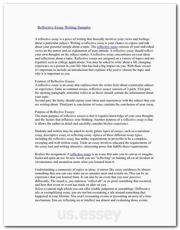 Example of an essay about education