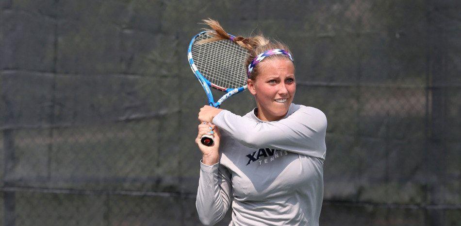 Xavier Women's Tennis Defeats EKU In True Musketeer Fashion