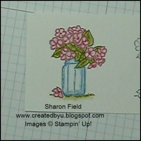 1 stampin' up! Demonstrator pootles – frosted florals bag tutorial.