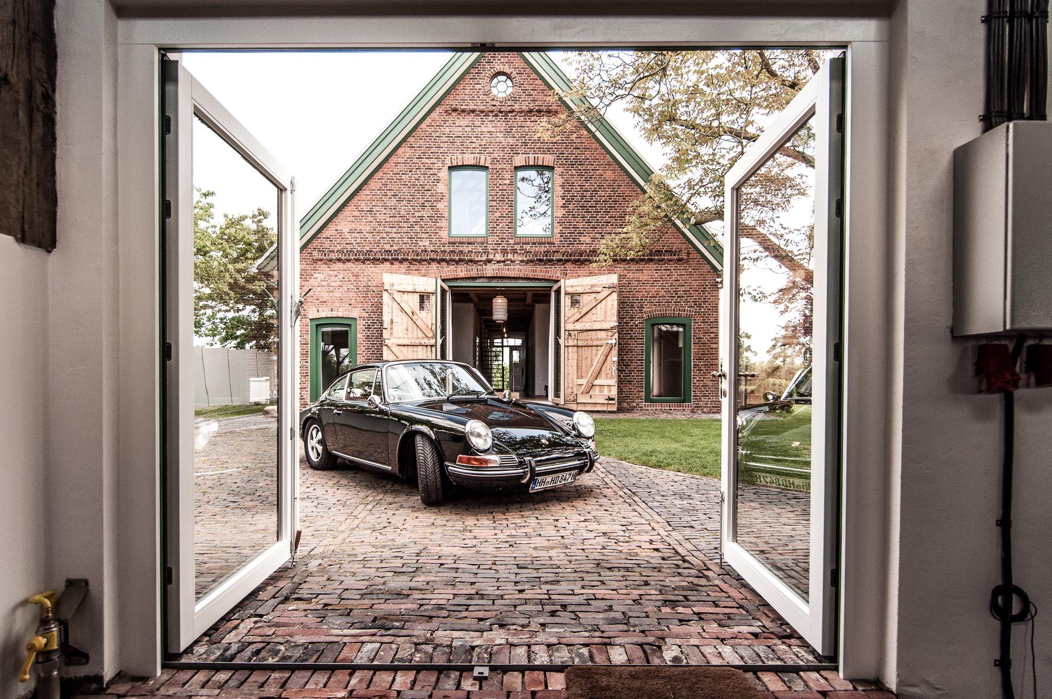 scheune, backsteinboden, zinkdach, historisch, modern, porsche, garage, oldtimer …  – Anbau