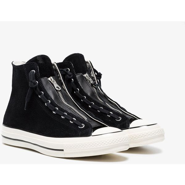 Fashionable and Cheap Women shoes Converse Chuck Taylor All Star Dual Zip Wash Black