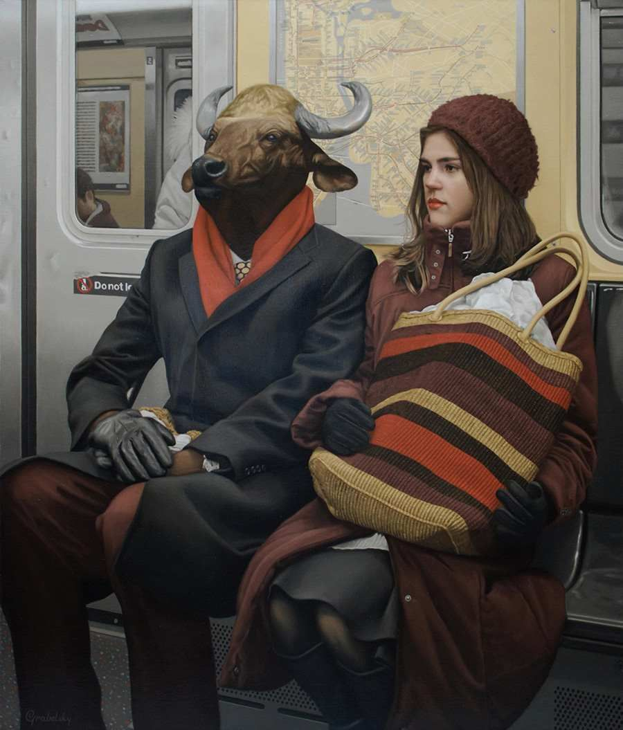 Realist Character Paintings by Matthew Grabelsky