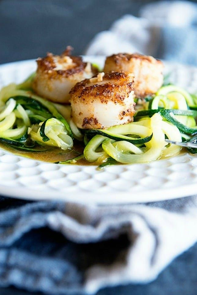 Look no further than this Seared Scallops With Zoodle recipe for a fantastic meal.