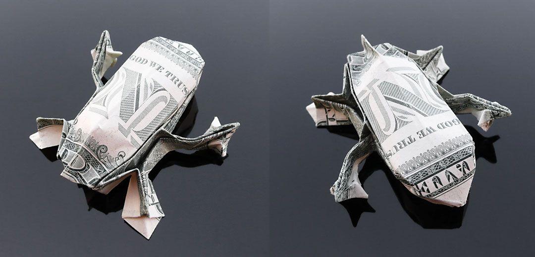 Dollar Bill Origami Tree Frog By Craigfoldsfives On Deviantart