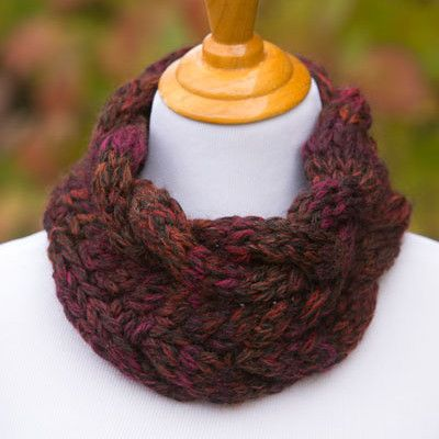 Chunky Cable Cowl | Cable cowl, Knitting patterns ...