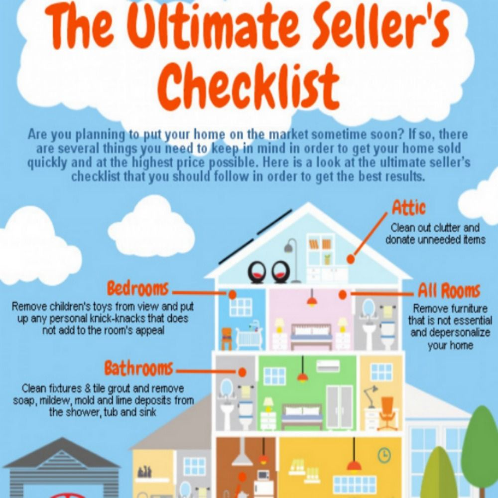 The Ultimate Sellers Checklist. Subscribe today to receive
