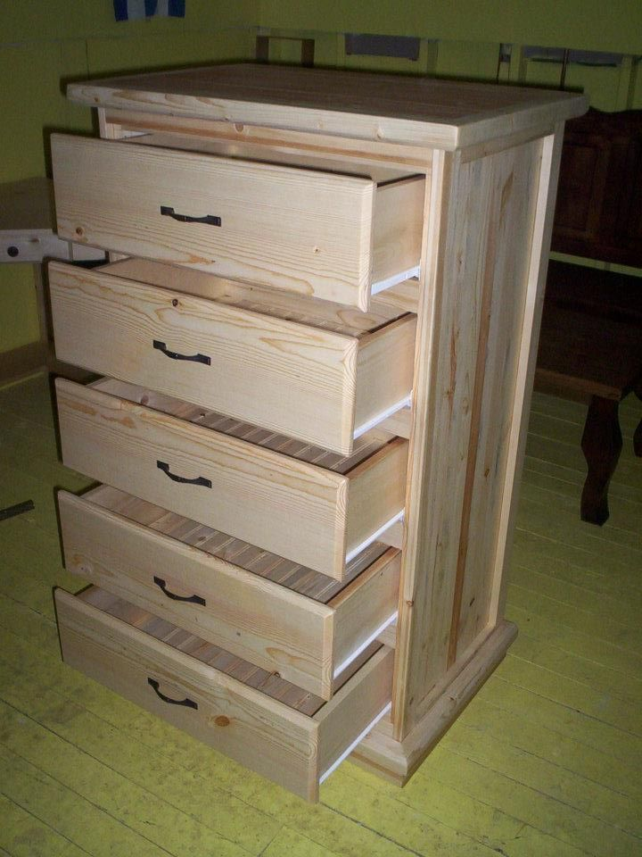Best 5 Drawer Dresser With Drawers Open Real Wood Furniture 640 x 480