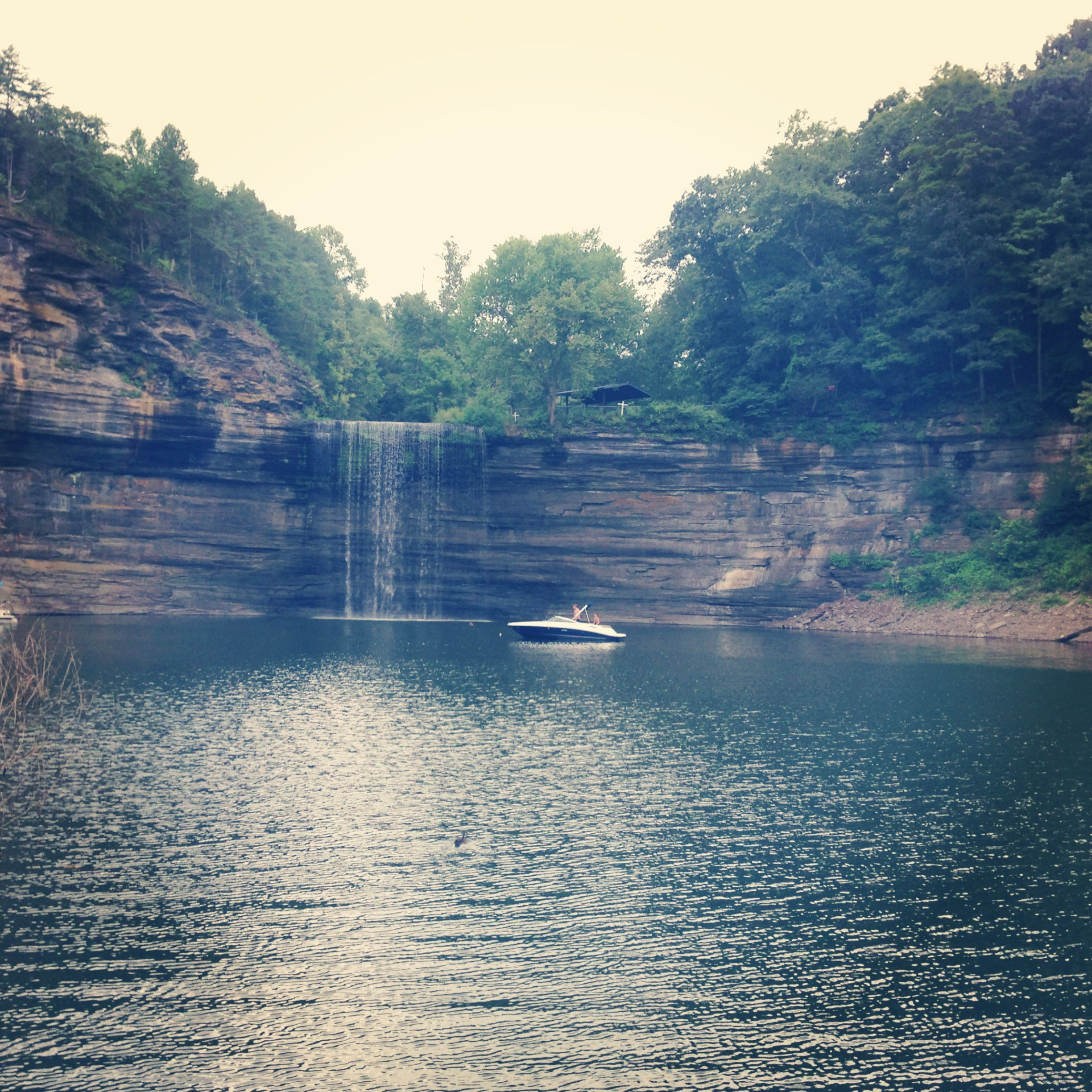 76 Falls Lake Cumberland Been Here My Dad Jumped Road Trip Fun