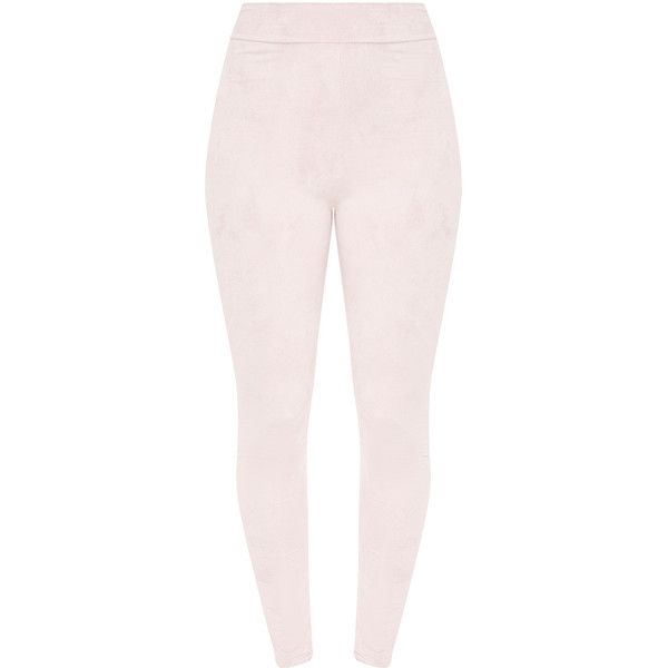 70fd6a3eccc40b Marshia Stone Suede Leggings ($16) ❤ liked on Polyvore featuring pants,  leggings, pink pants, suede leggings, legging pants, suede pants and suede  leather ...