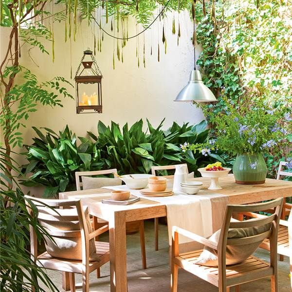 S en este piso de barcelona se escuchan los pajaritos - Casa con jardin barcelona ...