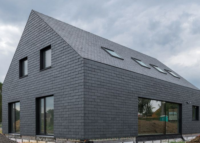 Cupaclad 100 Natural Slate Rainscreen Eco Supply Slate Roof Tiles Slate Roof Exterior Cladding