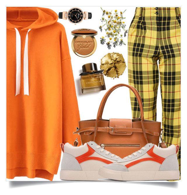 burberry hoodie orange