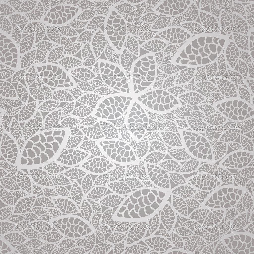 Vintage Wallpaper Seamless Pattern | ... vintage silver ...