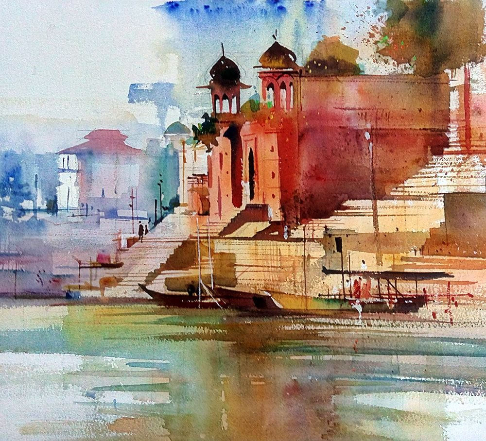 Milind Mulick Art Painting Watercolour Inspiration Watercolor