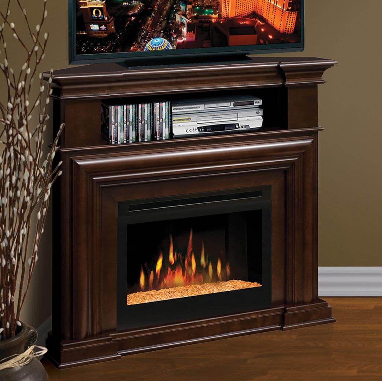 34 Enhance Your Living Space With Amazing Lowes Fireplace Tv Stand