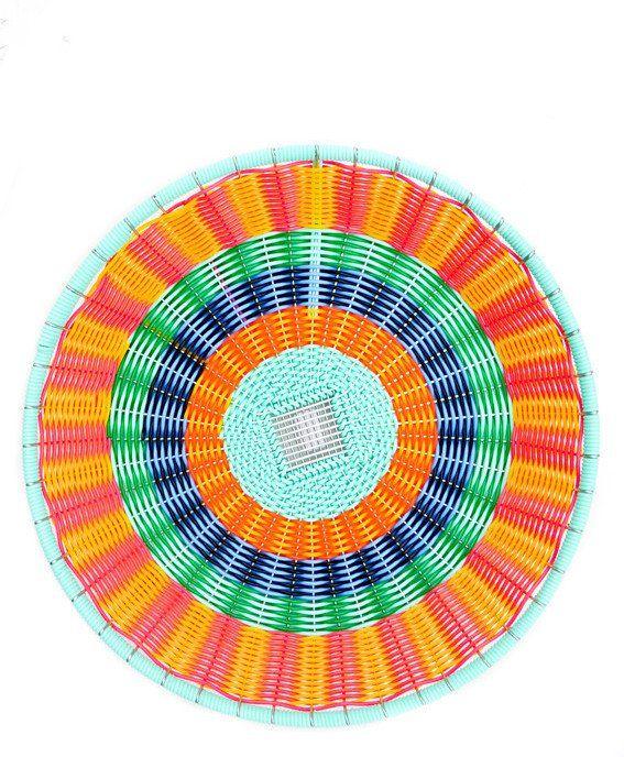 Kaleidoscope Woven Tray - LEIF