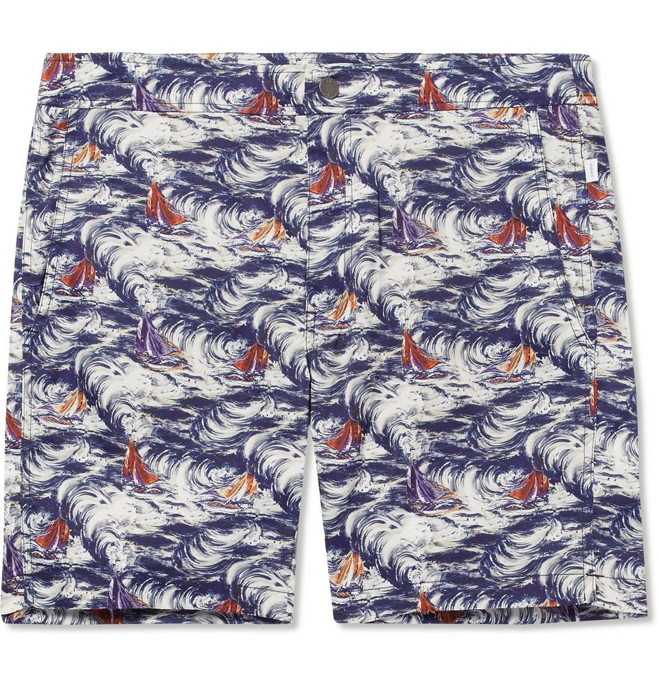 Visit New Sale Online Calder Long-length Printed Swim Shorts Onia Free Shipping Wiki Cheap Sale 2018 Newest With Paypal Free Shipping zDlhqA