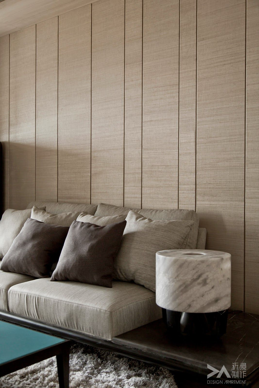 Wood Paneled Room Design: Modern Living Room Wall, Modern Interior