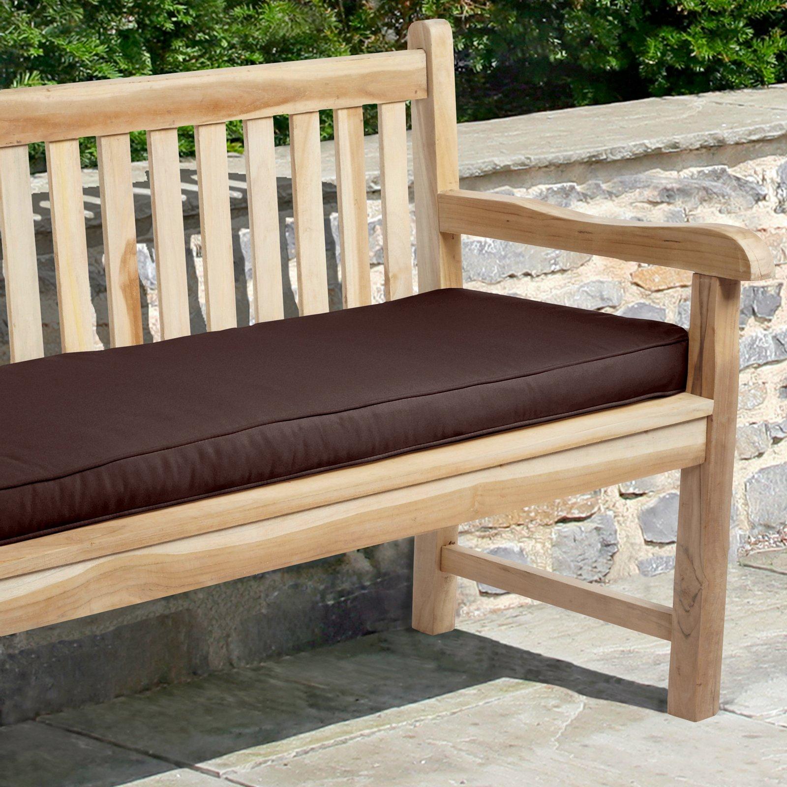 Mozaic Company 48 X 19 In Sunbrella Solid Outdoor Bench Cushion