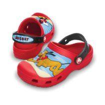 8313a243696eec Crocs - Crocs Mickey   Pluto Clogs - Red Black