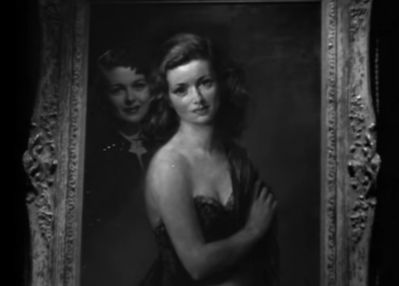 A materialização da figura admirada em Um Retrato de Mulher (1944)