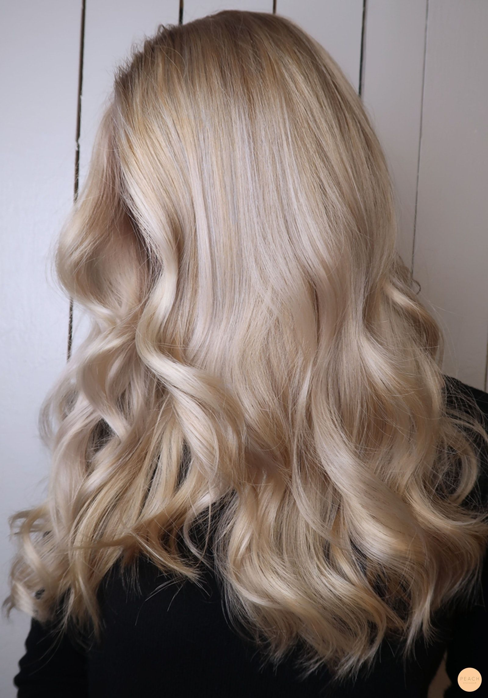 Loop Hair To Remove Outgrowth And Home Color For A Cool Blonde
