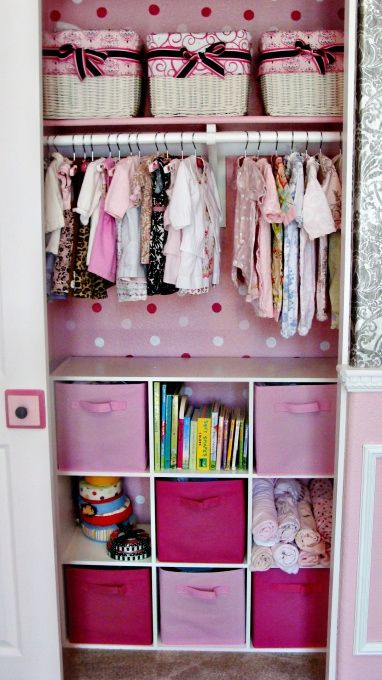 less pink but love the organization and use of space