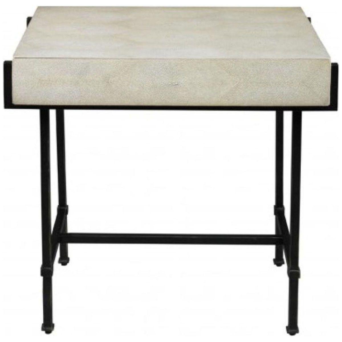 Lillian August Simone Bronze Side Table