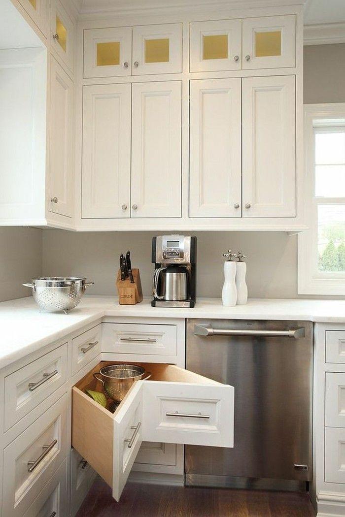 Küche in L-Form – der Allrounder in puncto moderne Küchengestaltung ...