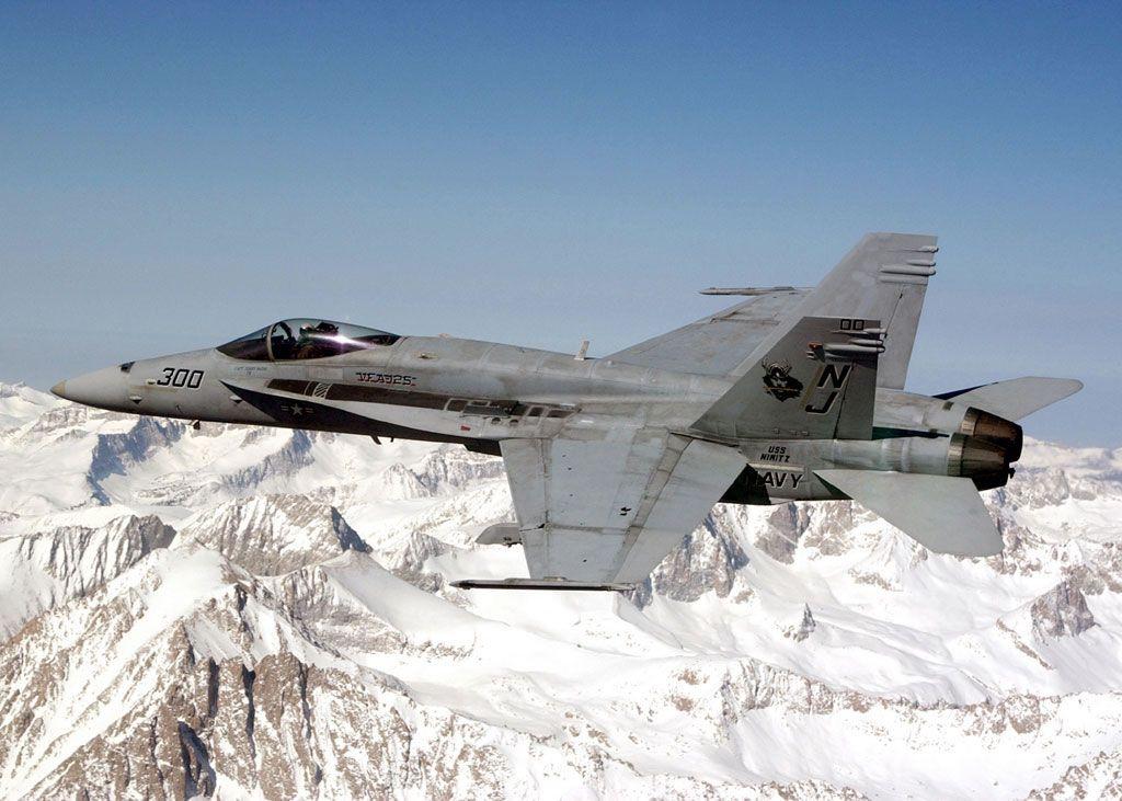 F-18 Superhornet.