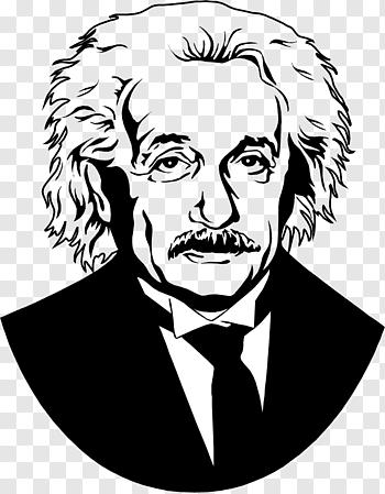 Albert Einstein Illustration Albert Einstein Scientist Silhouette Einstein Free Png In 2020 Silhouette Sketch Beatles Illustration Man Illustration