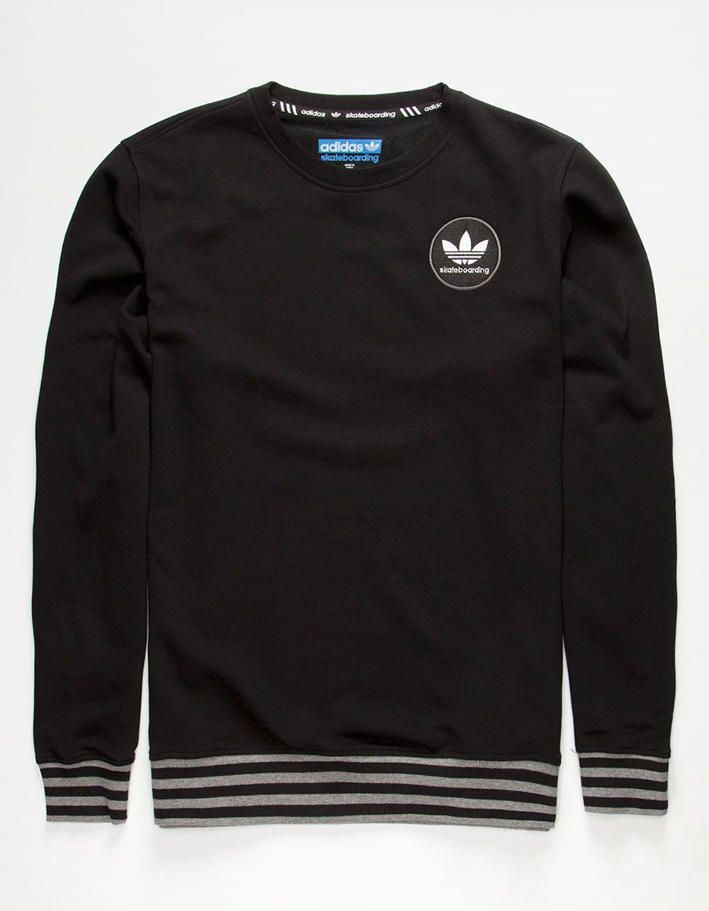 adidas Trefoil Crew-neck Sweatshirt - Urban Outfitters   Men's ...
