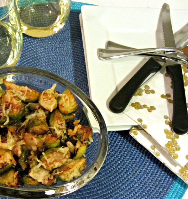 Caramelized Brussels Sprouts - Served 3.1