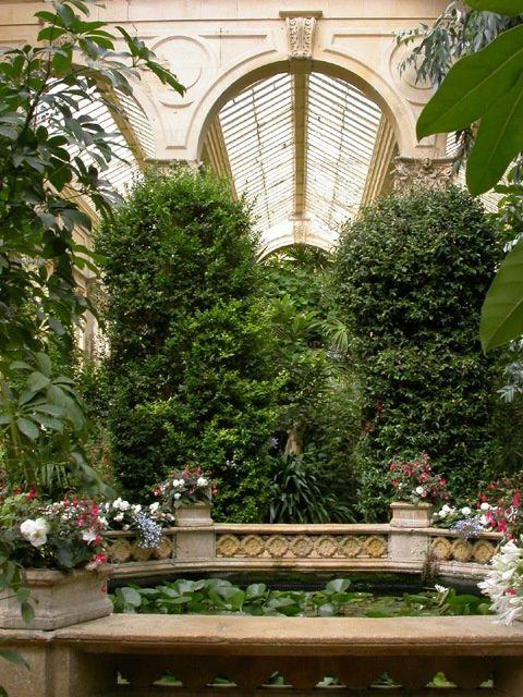 Le jardin dans les int rieurs le jardin int rieur et for Le jardin interieur