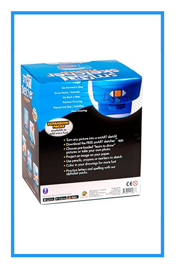 Smart Sketcher Learn To Draw Blue And White New Learn To Draw Blue And White Sketchers