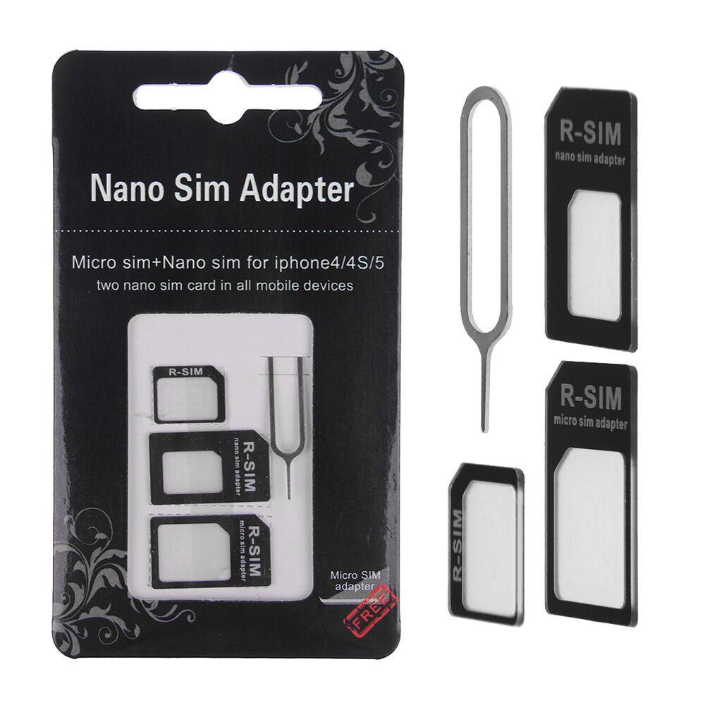 Iphone 4s Sim Karte.Ebay Sponsored 4 In 1 Nano Micro Sim Karten Adapter Set Iphone 4 5