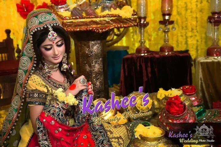 Kashee S Mehndi Makeup : Mayoo n mehndi bride by kashee s beauty parlour bridal
